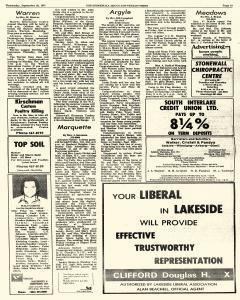 Stonewall Argus And Teulon Times, September 28, 1977, Page 34