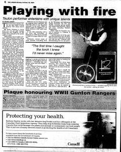 Stonewall Argus, October 23, 2000, Page 6