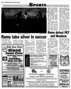 Stonewall Argus, October 23, 2000, Page 14