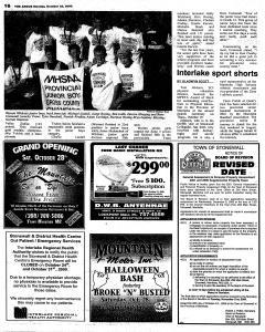 Stonewall Argus, October 23, 2000, Page 16
