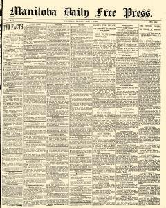 Winnipeg Free Press, May 02, 1890, Page 1