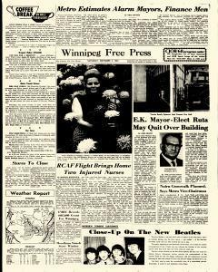 Winnipeg Free Press, November 04, 1967, Page 3