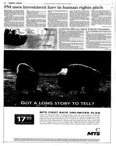 Winnipeg Free Press, February 15, 2001, Page 25