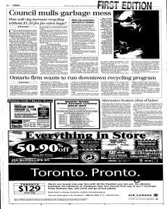 Winnipeg Free Press, February 15, 2001, Page 6