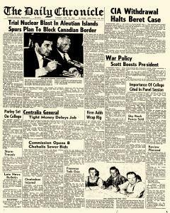 Centralia Daily Chronicle Newspaper Archives, Sep 30, 1969