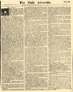 Daily Advertiser newspaper archives