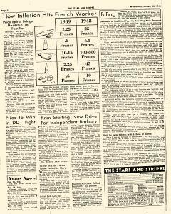 European Stars and Stripes, January 28, 1948, Page 2