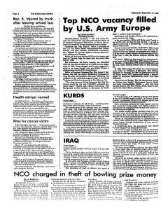 European Stars and Stripes, September 11, 1996, Page 4
