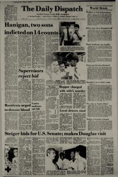 Douglas Daily Dispatch Newspaper Archives, Aug 28, 1976