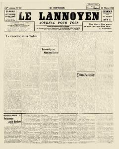 Le Lannoyen, March 11, 1933, Page 2
