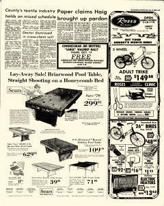 Gastonia Gazette Newspaper Archives Oct P - Honeycomb pool table