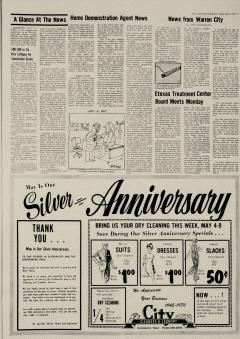 Gladewater Mirror Newspaper Archives May 3 1970 P 5