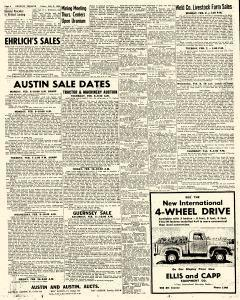 Greeley Daily Tribune Archives, Feb 3, 1956, p  4