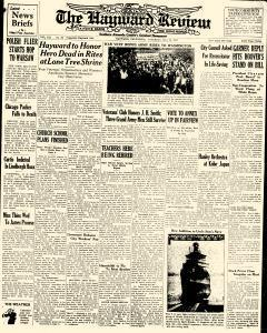Hayward Daily Review Newspaper Archives, May 28, 1932