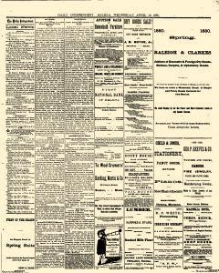 Helena Independent Newspaper Archives Apr 14 1880 P 3