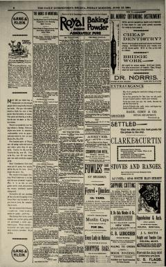 Helena Independent newspaper archives