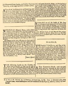 Dublin Evening Post, January 08, 1733, Page 4