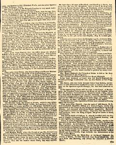 Dublin Gazette, January 24, 1737, Page 3