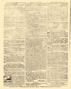 Dublin News Letter, August 23, 1740, Page 4