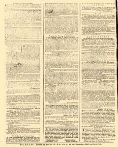 Dublin News Letter, October 21, 1740, Page 4