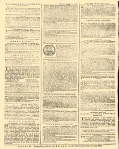 Dublin News Letter, October 25, 1740, Page 4