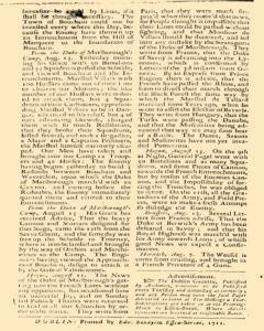 Dublin Post Man And The Historical Account, August 15, 1711, Page 2