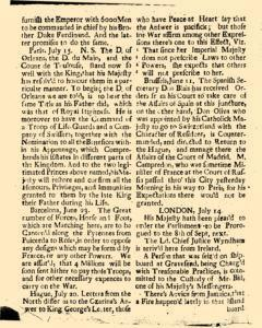 Dublin St James Evening Post, July 20, 1726, Page 2