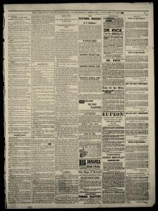 Indianapolis Indiana State Sentinel Archives, Jan 3, 1877, p  20