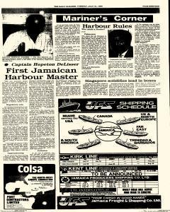 Kingston Gleaner, July 31, 1990, Page 19
