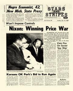 Pacific Stars And Stripes, October 19, 1969, Page 1