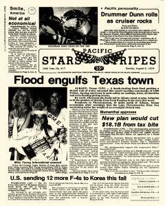 Pacific Stars and Stripes, August 06, 1978, Page 1