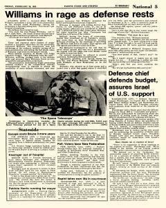 Pacific Stars and Stripes, February 26, 1982, Page 5