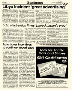 Pacific Stars and Stripes, March 30, 1986, Page 7