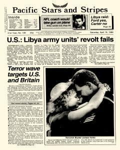 Pacific Stars And Stripes, April 19, 1986, Page 1