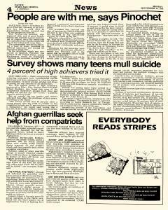 Pacific Stars and Stripes, September 15, 1986, Page 4