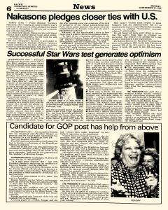 Pacific Stars and Stripes, September 15, 1986, Page 6