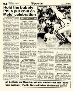 Pacific Stars and Stripes, September 15, 1986, Page 23