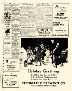 Lock Haven Express Newspaper Archives Dec 23 1944 P 9 Christmas will always be extra special for chad and danielle marr. newspaperarchive