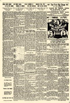 Lock Haven Express Newspaper Archives May 15 1905 P 4 News, obituaries, letters to the editor, and community news. newspaperarchive