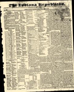 Madison Indiana Republican Newspaper Archives, Dec 29, 1831