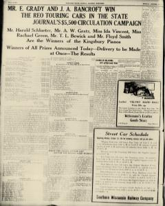 Madison Wisconsin State Journal Archives, Oct 23, 1911, p  8