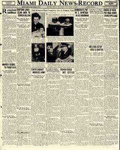 1f7b108b144 Miami Daily News Record newspaper archives