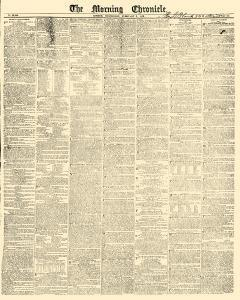 Morning Chronicle Newspaper Archives, Feb 3, 1830, p  5