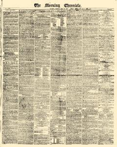 Morning Chronicle Newspaper Archives, May 19, 1837