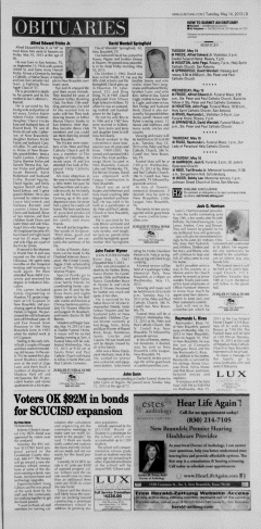 New Braunfels Herald Zeitung Archives, May 14, 2013, p  3