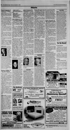 Pittsfield Berkshire Eagle Archives, Sep 9, 2004, p  10