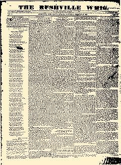 Rushville Whig Newspaper Archives