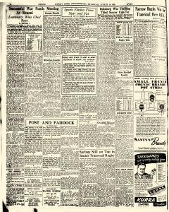 Sunday Times newspaper archives