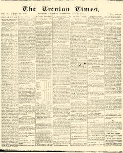 Trenton Times Newspaper Archives, May 20, 1886