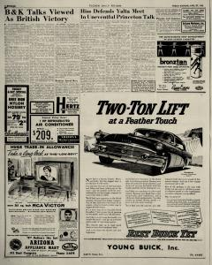 Tucson Daily Citizen Newspaper Archives